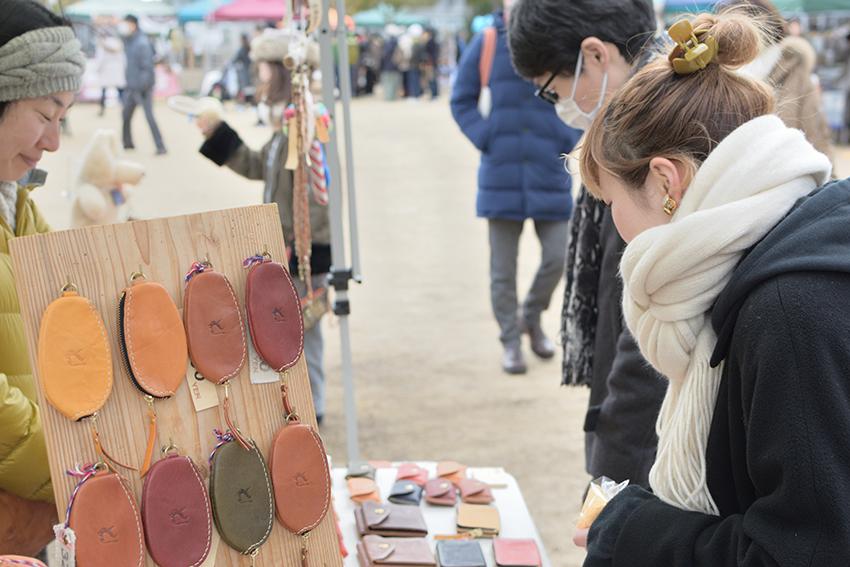 春物がたくさん♪「湊川公園手しごと市」で新入・新学期の準備を!