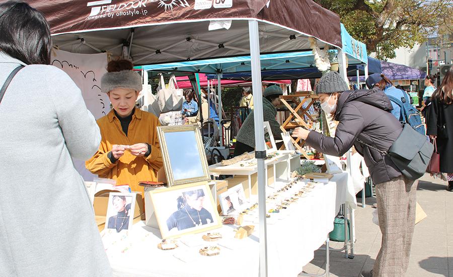 3月23日開催!湊川のツキイチマーケット「湊川公園手しごと市」