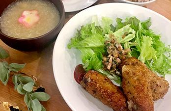 湊川キッチン〜その④〜 体が喜ぶ♪栄養たっぷりランチで疲れ知らずに!