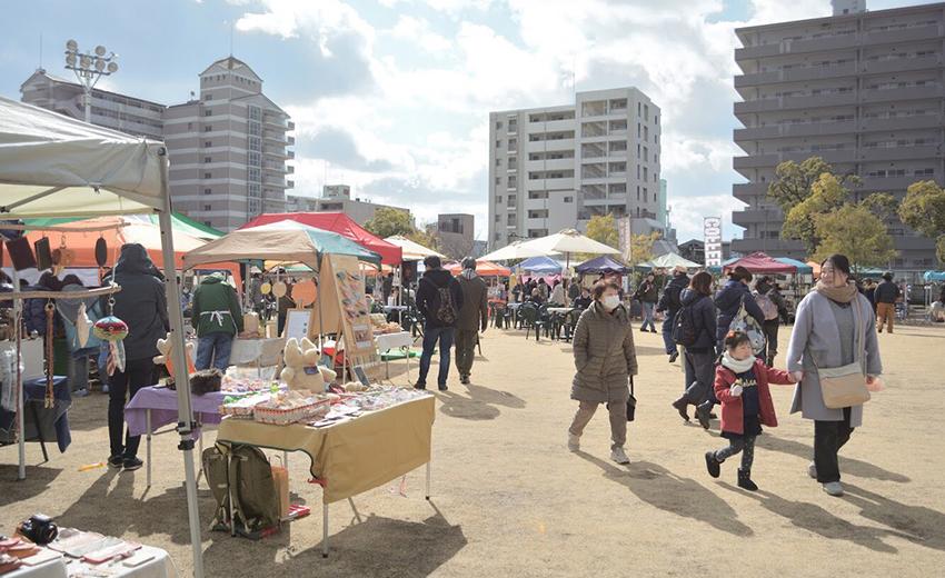 2月24日(土)は、湊川公園手しごと市!