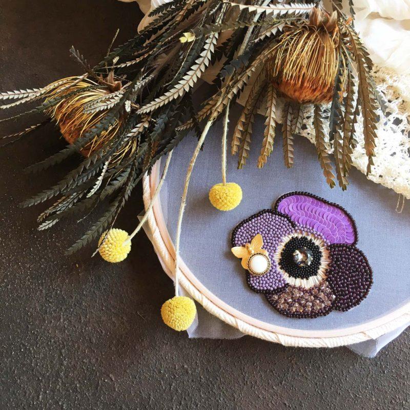 細やかなビーズ・刺繍に魅せられて。「Atelier Nico*」作品展のご紹介
