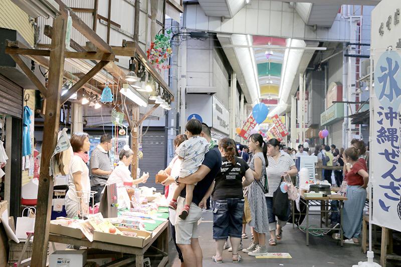 今年も開催!8月の終わりは「湊川夜市」!!